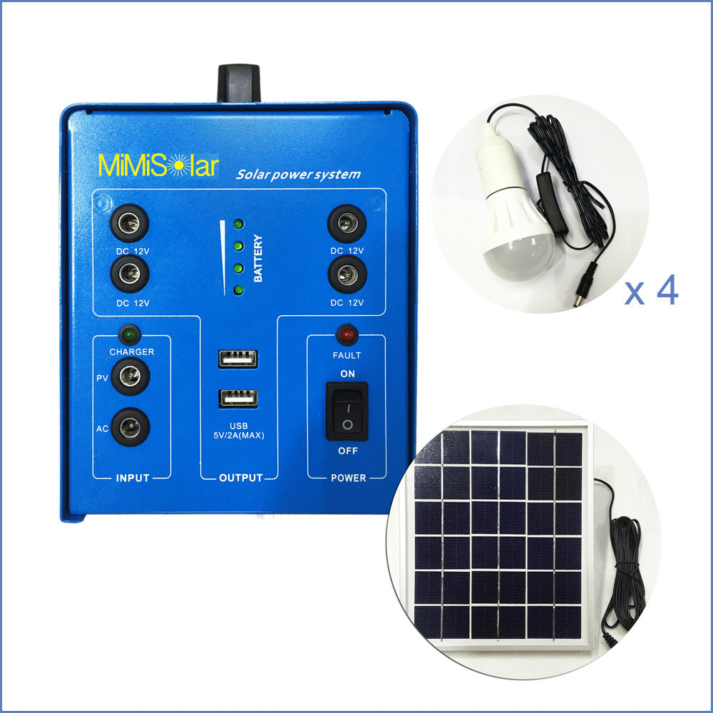 Small Business and Home Solar Kit System