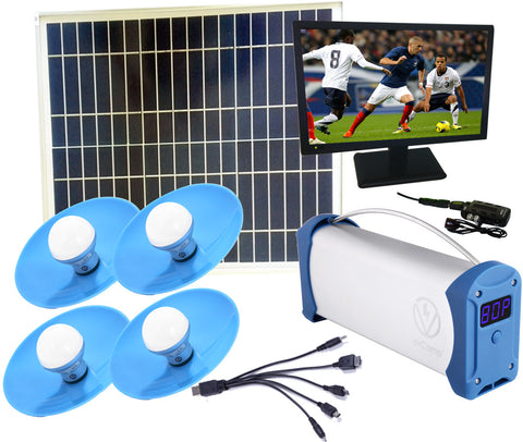 Solar TV Entertainment Systems Package-1-35W