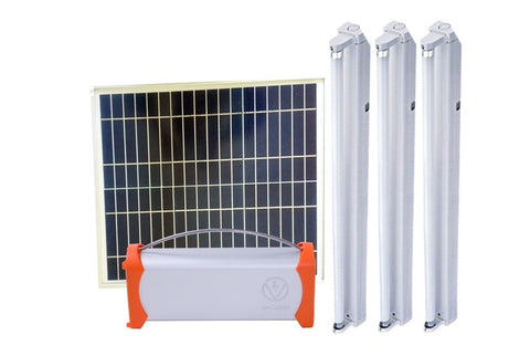 Solar Electrification Lighting Systems for School, Church, Health Centers & Many more - 35W