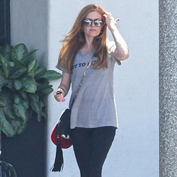 "Isla Fisher wearing Hastings ""Out to Lunch"""