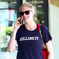 "Kate Upton in 'Killing It"" tee"