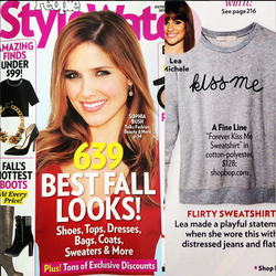 Forever 'Kiss Me' Sweatshirt in People StyleWatch