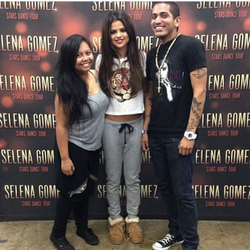 Selena Gomez wearing our Trinity Sweats and Brothers Mascot Tee