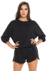 BILLY CROP SWEATSHIRT