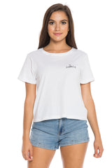 BROTHERS 'LOVELY' CROPPED TEE