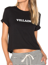 BROTHERS 'VILLAIN' CROPPED TEE