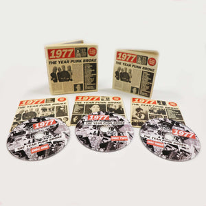 1977: The Year Punk Broke - 3CD