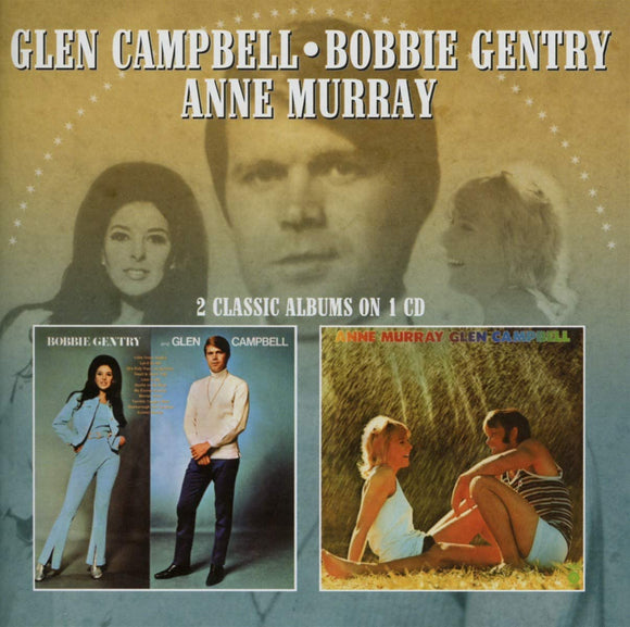 Glen Campbell/Bobbie Gentry/Anne Murray - 2 Classic Albums On One - CD