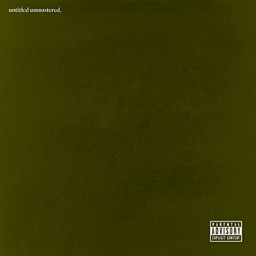 Kendrick Lamar - Untitled Unmastered - LP