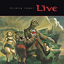 Live - Throwing Copper - LP