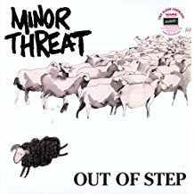 Minor Threat - Out of Step - LP