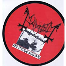 Mayhem - Deathcrush - LP (Picture Disc)