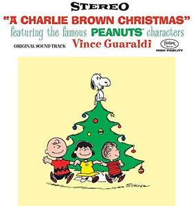 A Charlie Brown Christmas - LP (70th Anniversary Vinyl with Lenticular Cover)