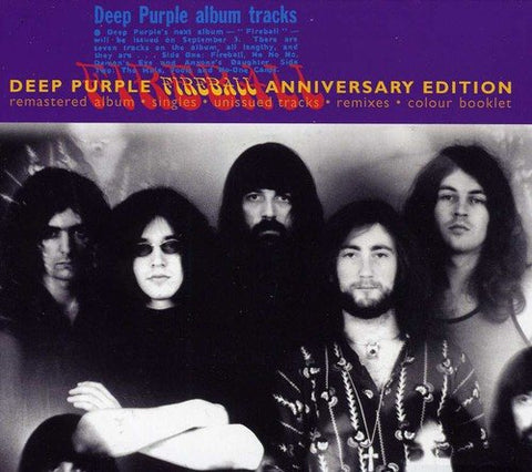 Deep Purple - Fireball - 25th Anniversary CD