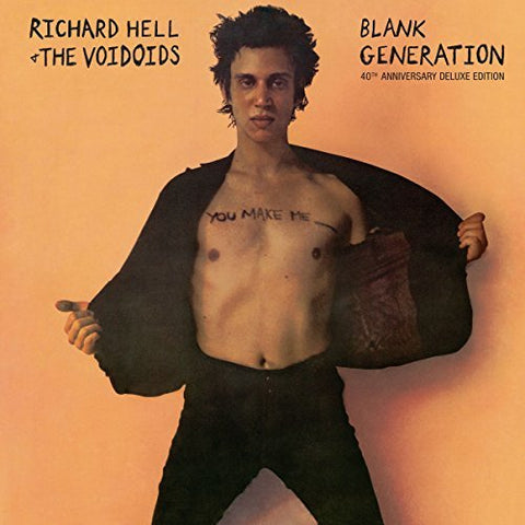 Richard Hell & The Voidoids - Blank Generation: 40th Anniversary Deluxe Edition - 2 LPs