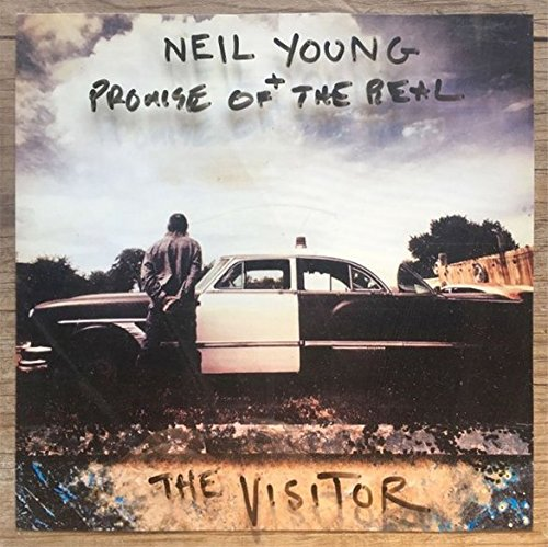 Neil Young - The Visitor LP