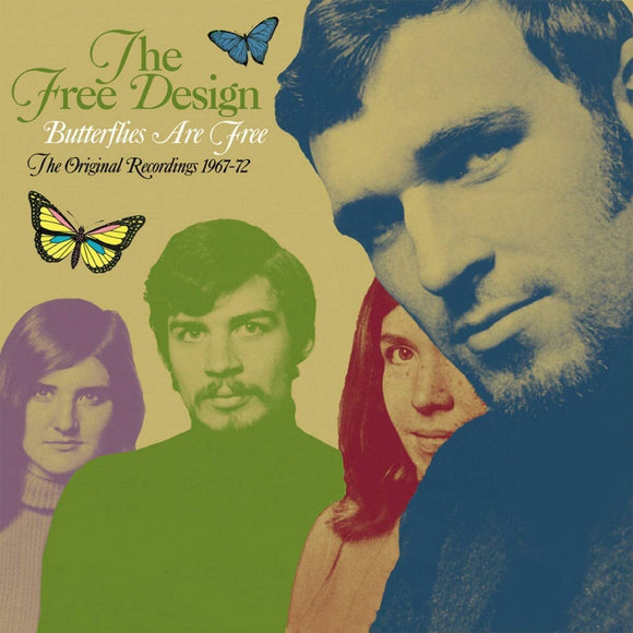The Free Design - Butterflies Are Free: The Original Recordings 1967-72 - 4CD