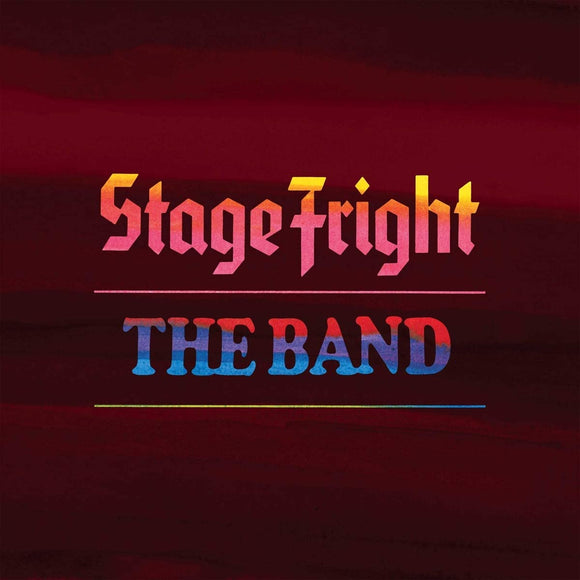 The Band - Stage Fright 50th - 2CD