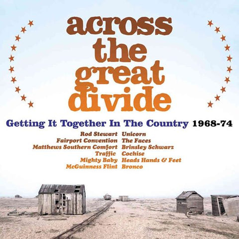 Various - Across The Great Divide: Getting It Together In The Country - 3CD