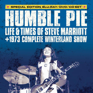 Humble Pie: Life And Times Of Steve Marriott - CD/DVD/BLU