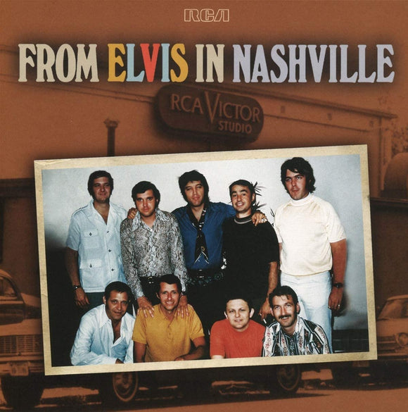 Elvis Presley - From Elvis In Nashville - 2LP