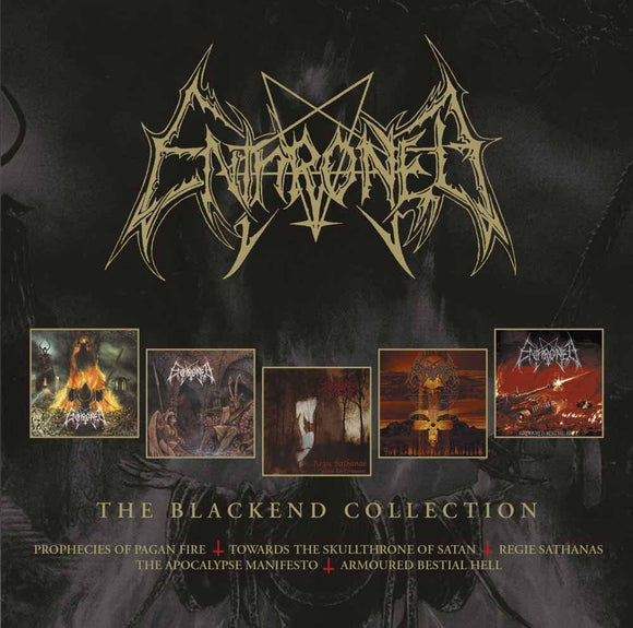 Enthroned - The Blackend Years - 4CD
