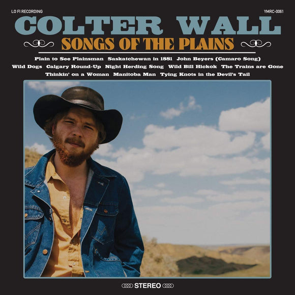 Colter Wall - Songs Of The Plains- CD