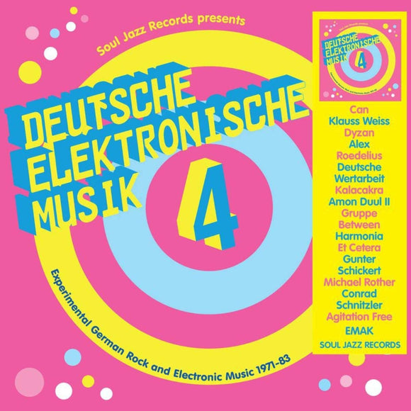 Deutsche Elektronische Musik 4 – Experimental German Rock and Electronic Music 1971-83 - 3LP