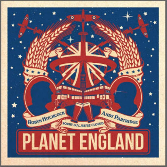 Robyn Hitchcock & Andy Partridge - Planet England - CD EP