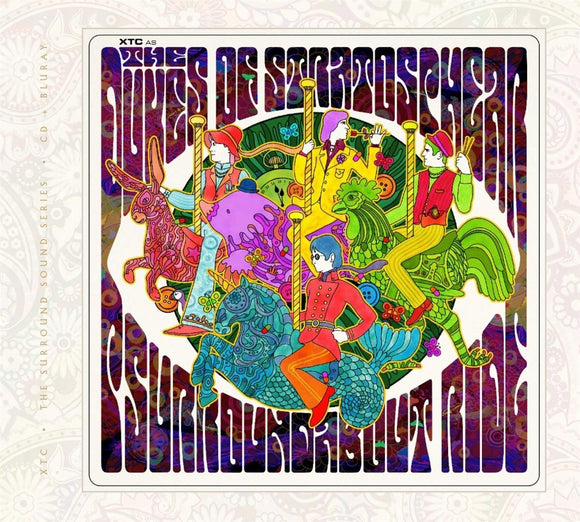 Dukes Of Stratosphere - Psurroundabout Ride - CD/Blu
