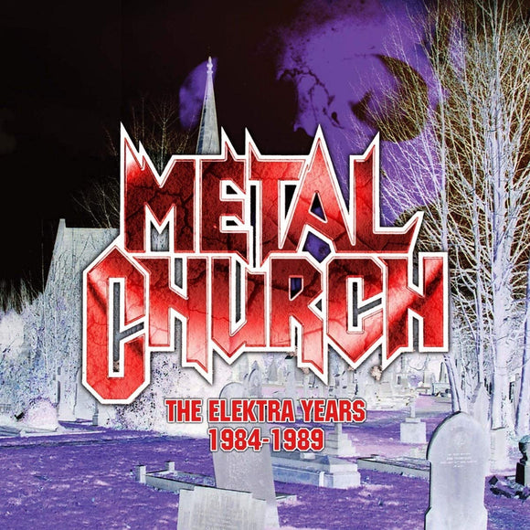 Metal Church - The Elektra Years 1984-1989 - 3CD