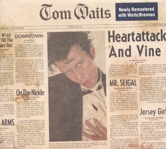 Tom Waits -  -Heartattack And Vine - LP