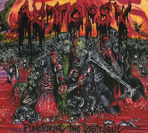 Autopsy - Puncturing The Grotesque LP