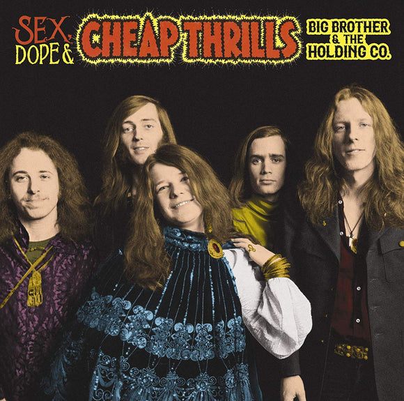 Big Brother & The Holding Company - Sex, Dope & Cheap Thrills 2 LP
