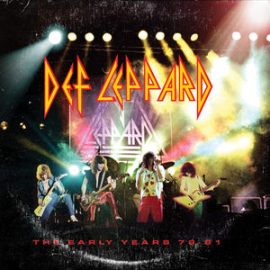 Def Leppard - The Early Years - 5 CD
