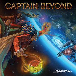 Captain Beyond - Live In Miami August 19, 1972 - CD