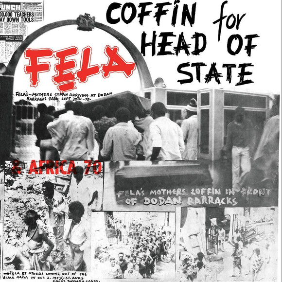 Feli Kuti - Coffin For Head Of State - LP