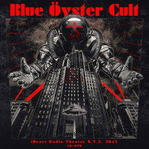 Blue Oyster Cult - Iheart Radio Theater N.Y.C. 2012 - CD/DVD