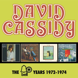David Cassidy - The Bell Years 1972-1974 - 4CD
