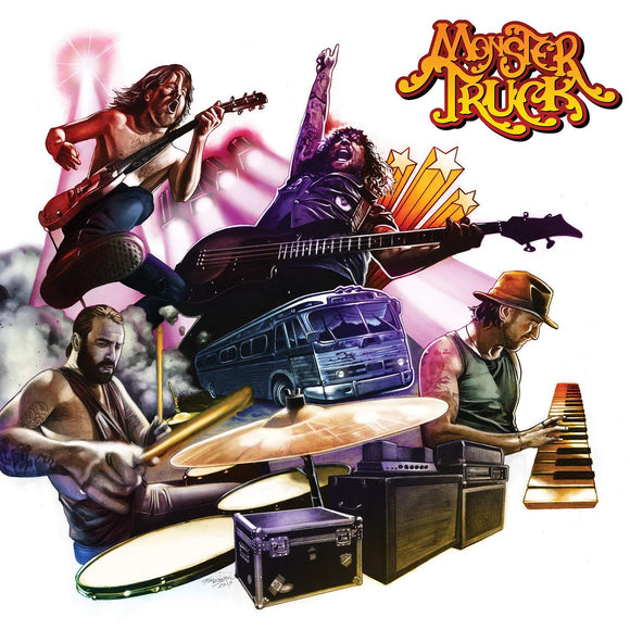 Monster Truck - True Rockers - CD