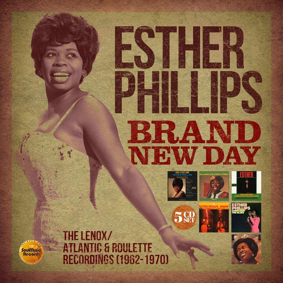 Esther Phillips - Brand New Day: The Lenox/Atlantic & Roulette Recordings - 5CD
