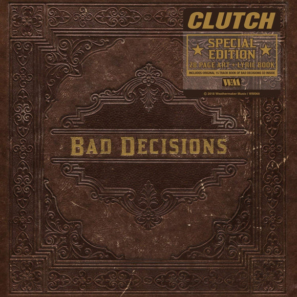 Clutch - Book Of Bad Decisions CD