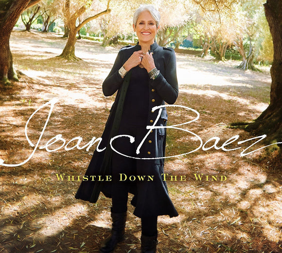Joan Baez - Whistle Down The Wind LP