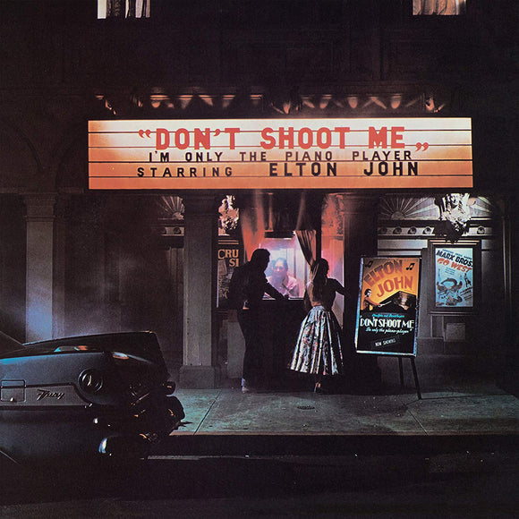 Elton John - Don't Shoot Me I'm Only the Piano Player - LP