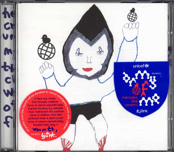 Bjork - Unicef Charity Record - Army of Me: Remixes and Covers - CD