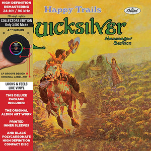 Quicksilver Messenger Service - Happy Trails - CD