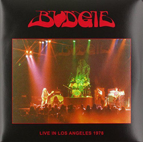 Budgie - Live In Los Angeles 1978 - 2 LP - SIGNED
