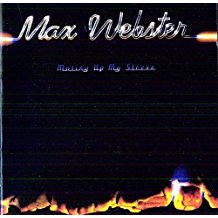 Max Webster - Mutiny Up My Sleeve - LP