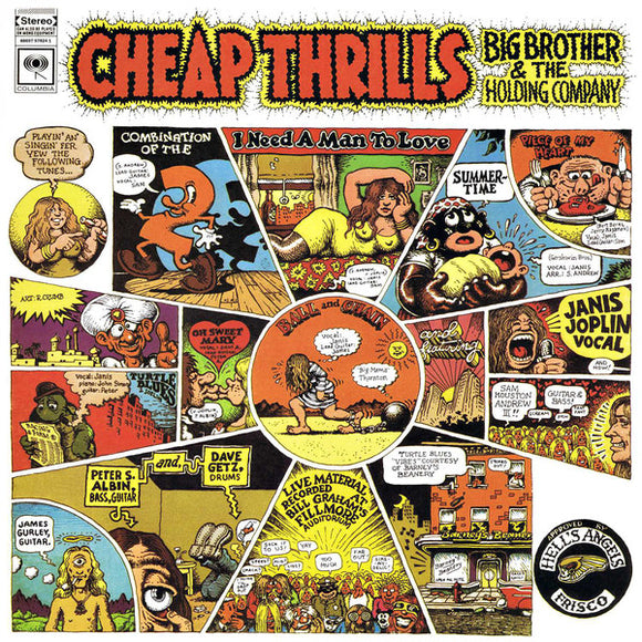 Big Brother & The Holding Company - Cheap Thrills - LP (stereo)