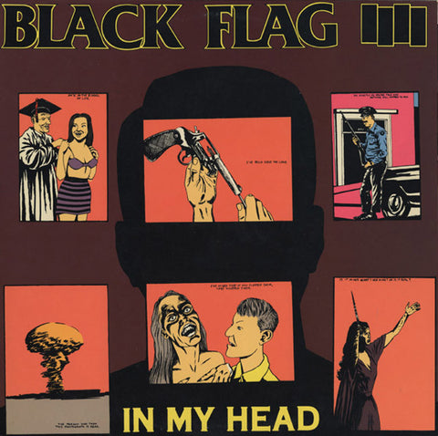 Black Flag - In My Head - LP